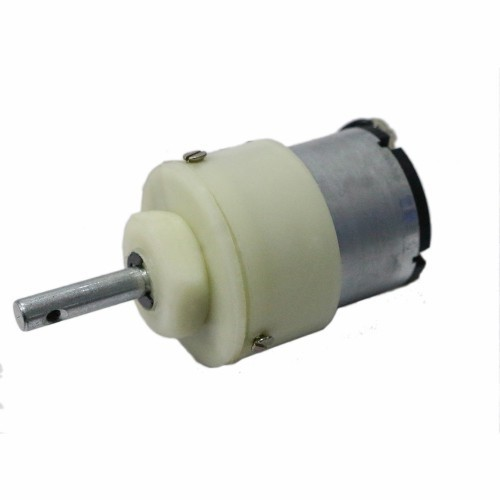 Center Shaft Metal Geared DC Motor 200rpm