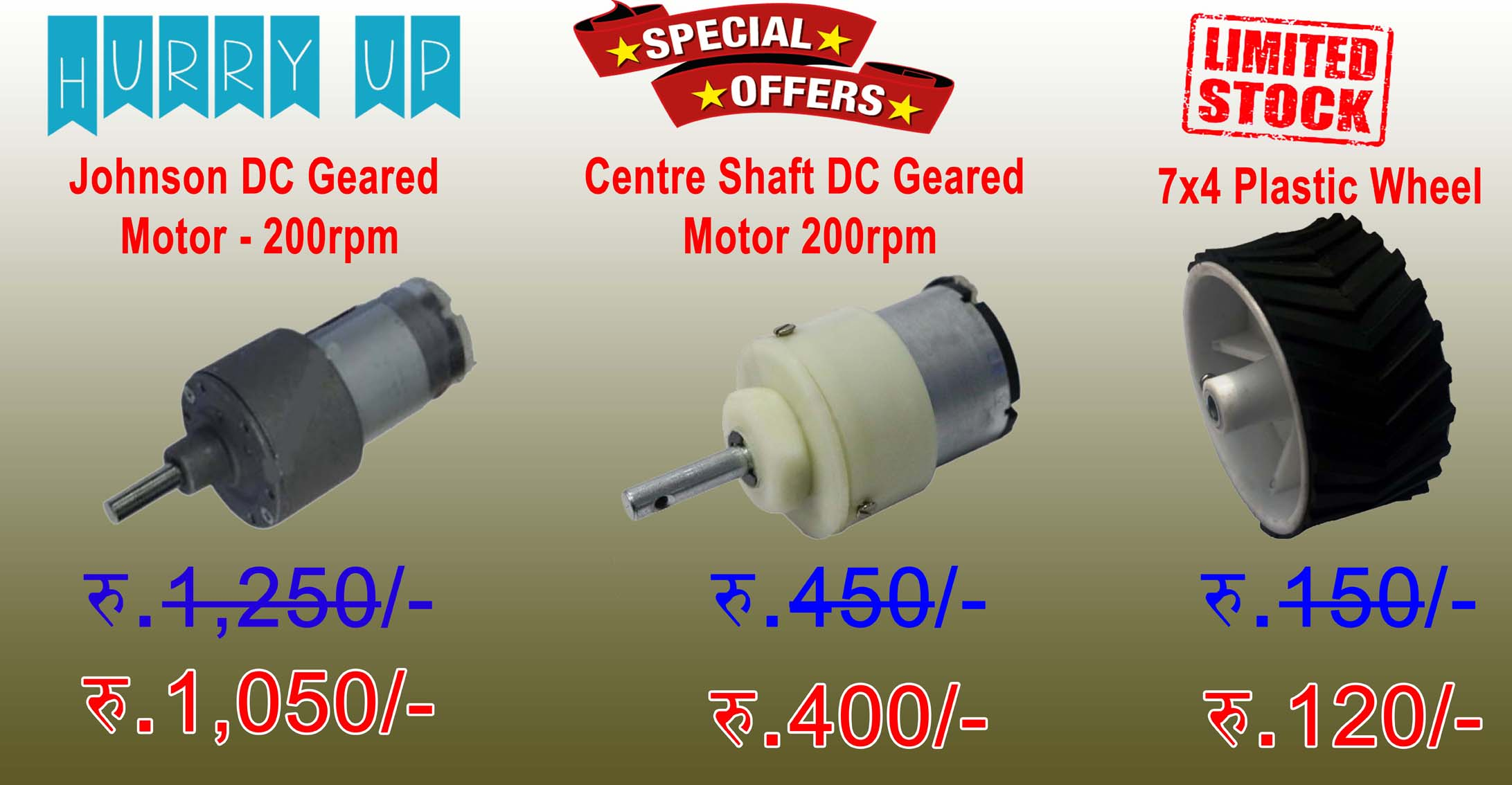 All Types of DC Motors