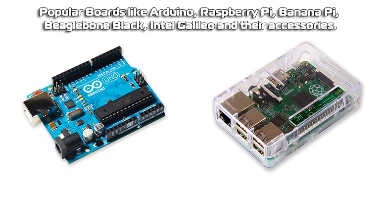 All Embedded Boards - Raspberry pi, Arduino, Programmer